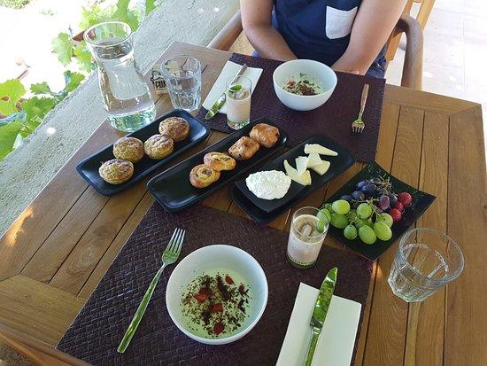 Brsecine, Croatia: Petit Dej' varié et délicieux