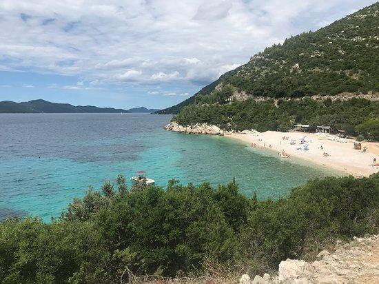 Brsecine, Croatia: Plage située à 2 min en voiture ou 10 min à pied
