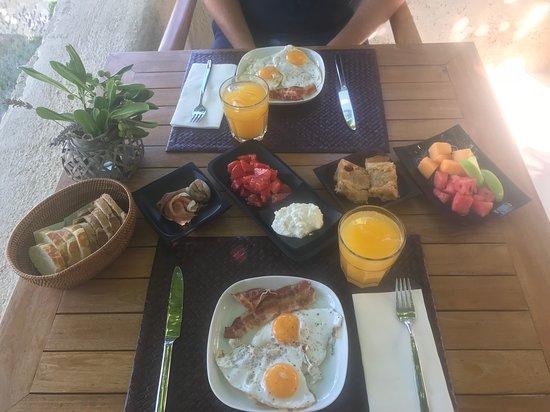 Brsecine, Croatia: Petit déjeuner varié et copieux