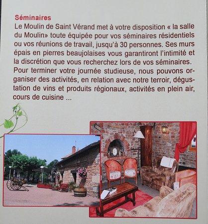 Le Moulin de Saint Verand照片