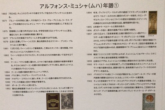 Kawaguchiko Museum of Art: ミュシャ展 (2018/06/30)