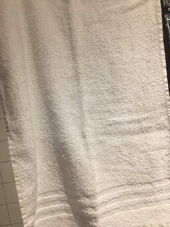 Best Western Amsterdam: Dirty Towels