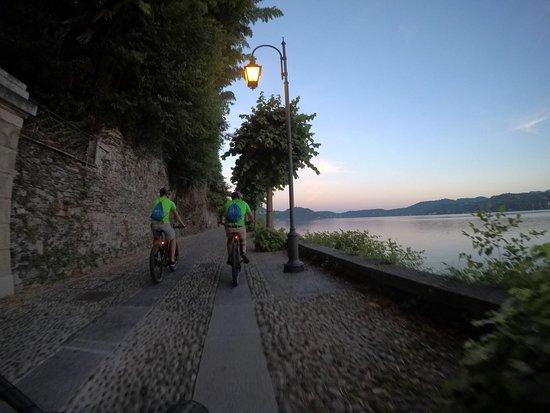 sconto prezzo più basso vestibilità classica panorama - Picture of E-Bike Lago D'Orta, Orta San Giulio ...