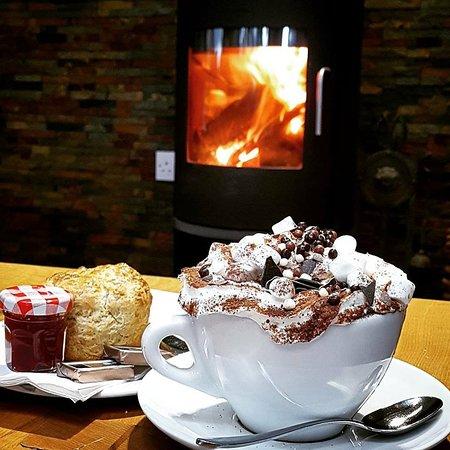 Murthly, UK: Hot chocolate