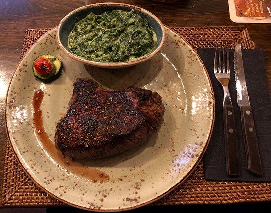 500g h ftsteak 22euro argentinisches rind bild von texas steaklounge erfurt tripadvisor. Black Bedroom Furniture Sets. Home Design Ideas