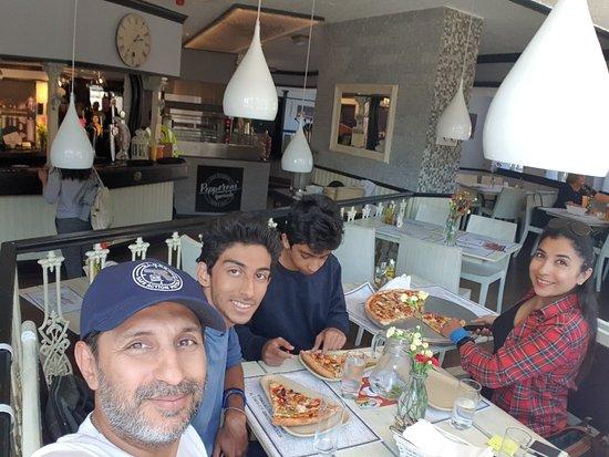 Pizza Pepperoni照片