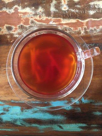 The Reader's Cafe: Honey Ginger tea