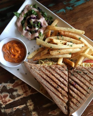 The Reader's Cafe: sandwich