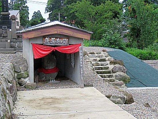 Myoko, Giappone: 大きな石仏です