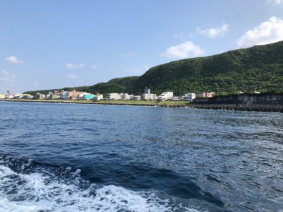 Green Island: 藍藍的海面很療癒