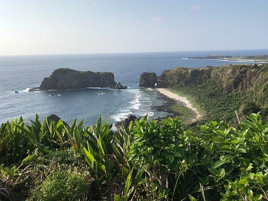 Green Island: 潛水後環島一圈欣賞風景,再看看哈巴狗跟睡美人