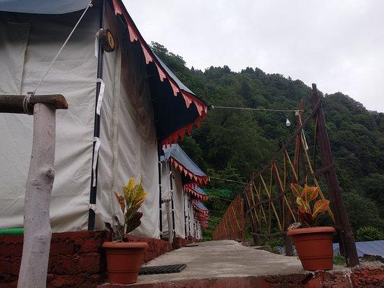 Balcony - Picture of The Blue Camp, Barot - Tripadvisor