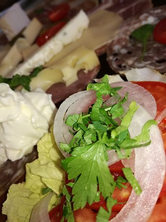 Restaurant Panorama: assiette Italienne