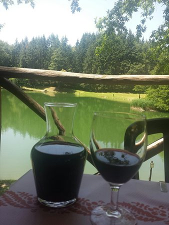 Foto de Ristorante Lago dei Pontini