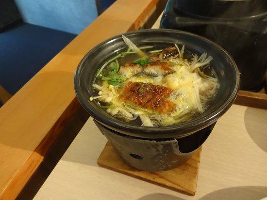Entaijiso: 選べる鍋ウナギ入り柳川