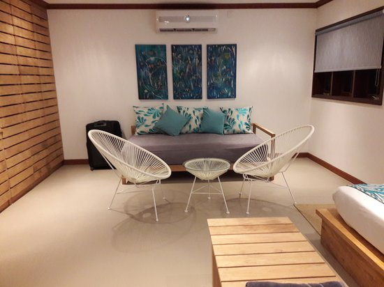 Au Cap, Seychelles: Senior Suite, Assomption (sohva/varasänky)