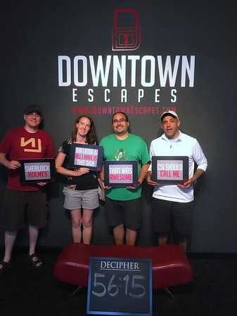 Our Team - Decipher @ Downtown Escapes