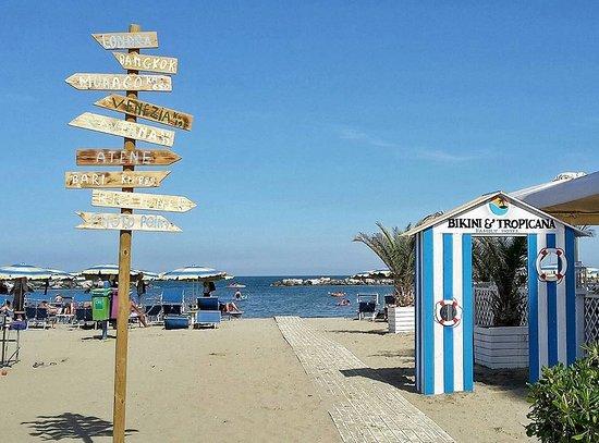 Family club hotel bikini tropicana lido di savio itali foto 39 s reviews en - Bagno punta canna sottomarina ...