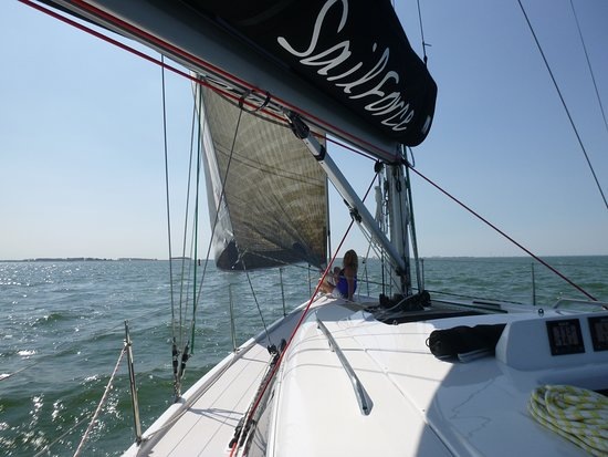Wemeldinge, Países Baixos: Prachtig weer op een prachtige boot