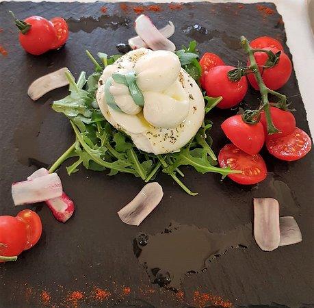 Burrata & pomodori di Pachino