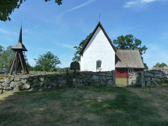 Vaxjo, Sweden: Jäts gamla kyrka i Jät