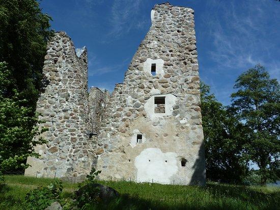 Векшо, Швеция: Bergkvara slottsruin i Bergunda utanför Växjö