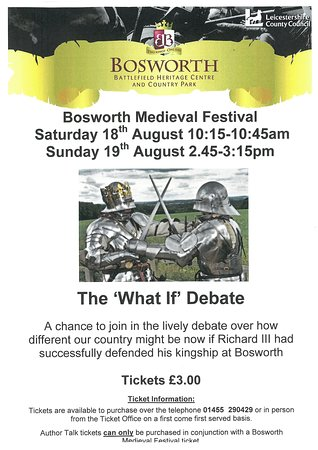 Sutton Cheney, UK: The What If Debate