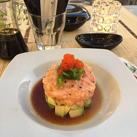 Sushi Bar Mostra: Tuna_carpaccio _salmon tartar