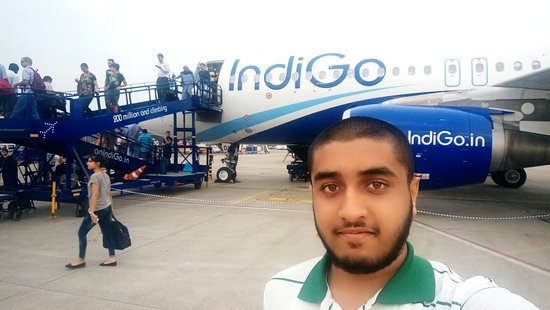 Bilde fra IndiGo