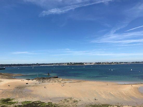 Les Remparts de Saint-Malo: vue des remparts