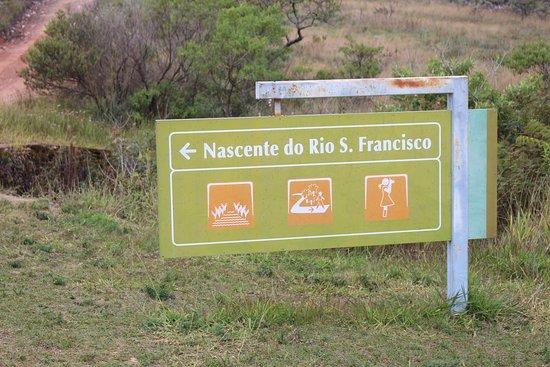 Rio São Francisco Spring : Nascente do Rio São Francisco