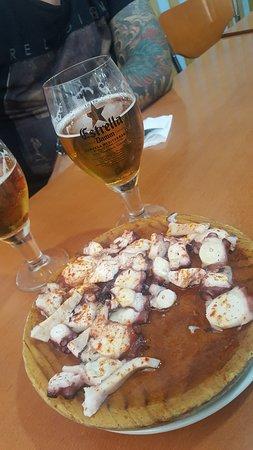 Bar Celta Pulperia: Pulpo galizischer Art