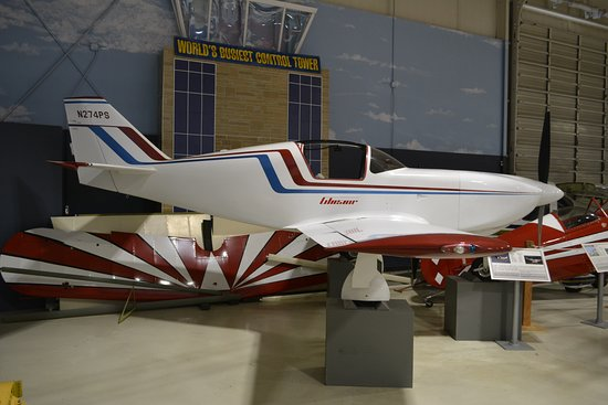 Southern Museum of Flight: Stoddard-Hamilton Glasair I Home-built aircraft