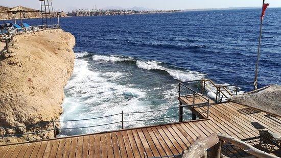 Dive Inn Resort: Платный пляж