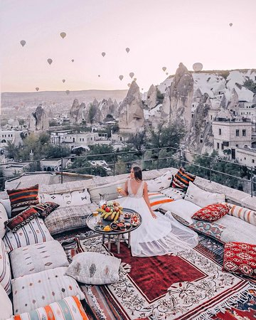 Cappadocia Cave Suites: photo terrace