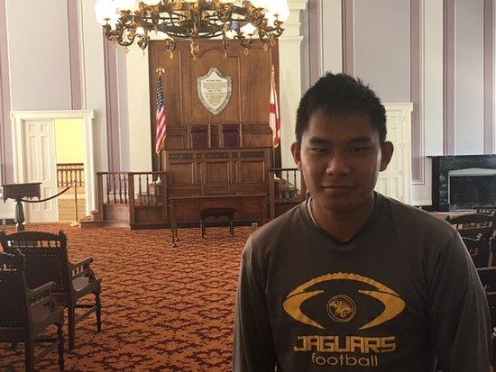 Alabama State Capitol: Senate Chamber