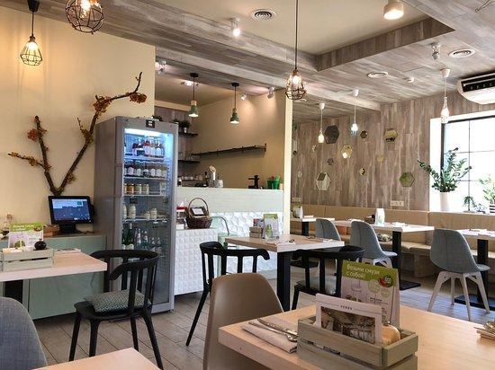 Verde cafe: зал