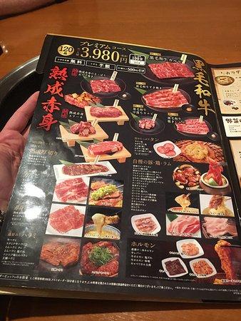 Gyukaku Buffet Tomisato: Menu 6