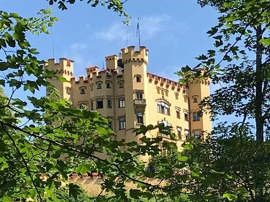 Schloss Hohenschwangau: facciata