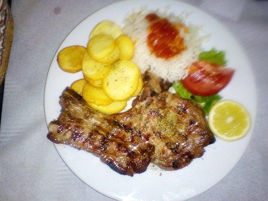 Preveza Region, Grækenland: Grilled Pork