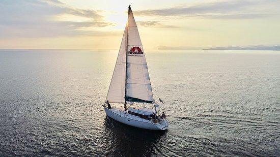 Six-Fours-les-Plages, França: voilier Padishah - île des Embiez
