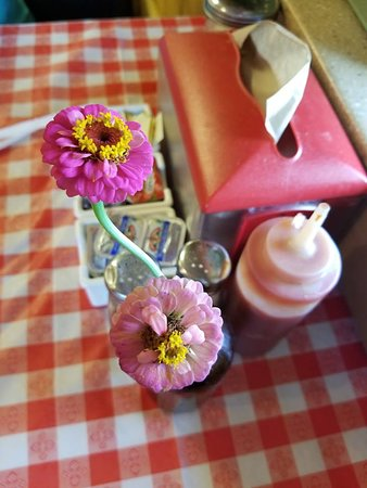 Royal, AR: Hand picked zinnias