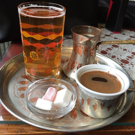 Hüseyin'in kahvesi içilmeli