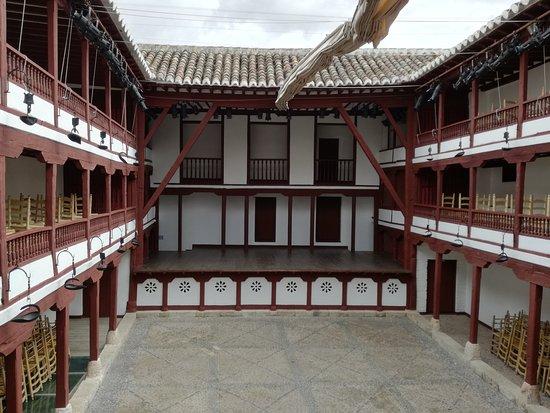 Corral de Comedias de Almagro: Vista desde 2ª planta