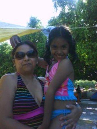 Izucar de Matamoros, Meksyk: Con mi hija cuando todavía estaba pequeña