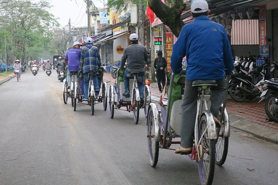 Hue Flavor Street Food Tour by Cyclo or Motorbike with Driver: Expert drivers
