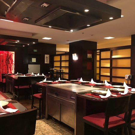 Teppan Table Picture Of Benihana Restaurant Bucharest TripAdvisor - Teppan table