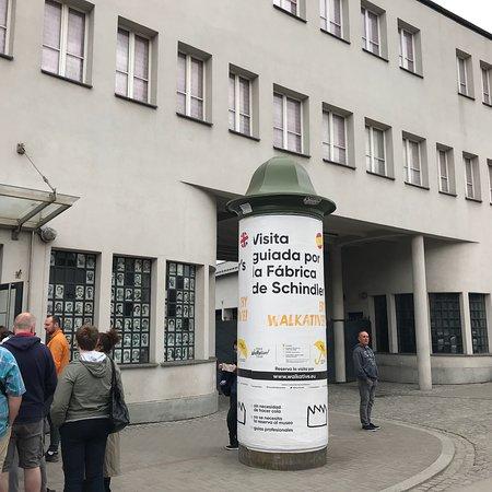 Muzeum Krakowa, oddział Fabryka Emalia Oskara Schindlera: Pues otra visita obligada al otro lado Del Río Vistula.-Impresionante