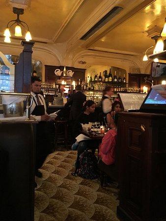 Orsay's attractive bar area
