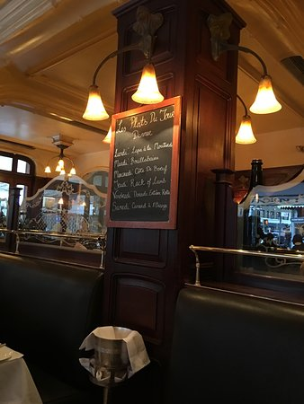 Orsay: The daily specials posted